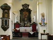Oltář v kostele sv. Markéty - 86.89KiB