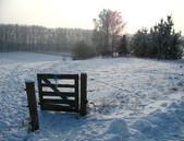 Zima v Královicích, pohled do údolí Rokytky - 105.67KiB
